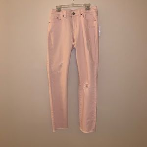 🎀LAUREN CONRAD pink ripped jeans🎀